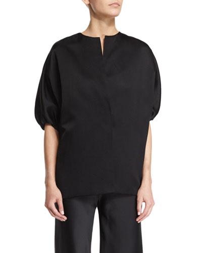 Malley Half-Sleeve Jacket, Black