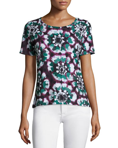 Short-Sleeve Tie-Dye T-Shirt