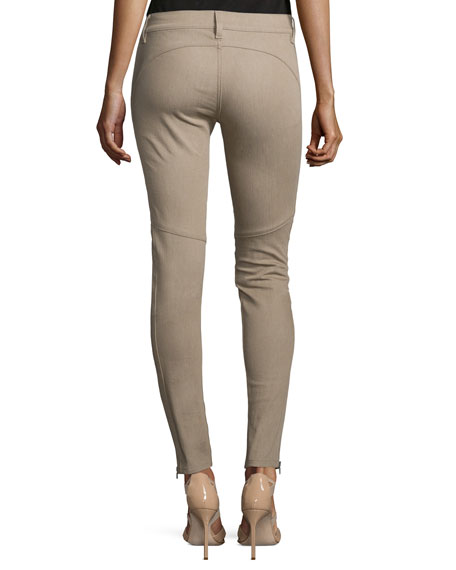 400 Matchstick Ankle Jeans, Taupe