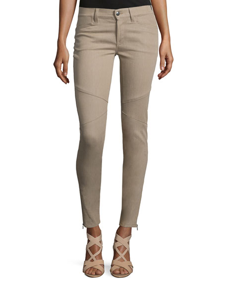 Ralph Lauren Collection 400 Matchstick Ankle Jeans, Taupe