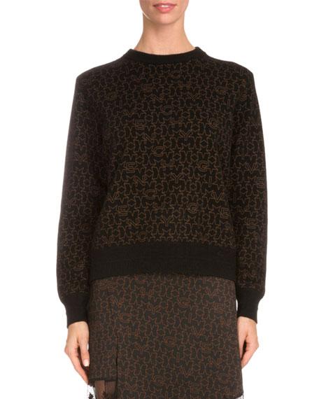 a3a6a898373b9 Givenchy Star-Print Sweatshirt W Contrast Trim