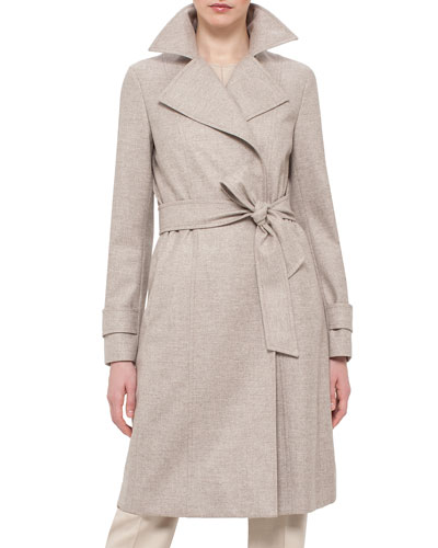 Belted Trench Coat, Steppe