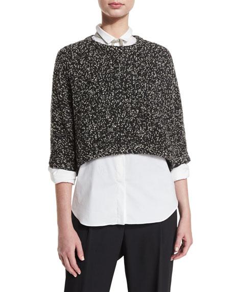 Brunello Cucinelli Blouse, Pants, Fedora & Sweater