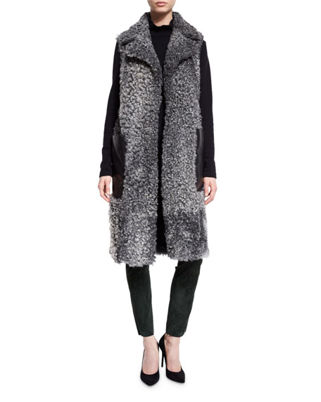 Escada Laker Suede Leggings, Sweater & Coat