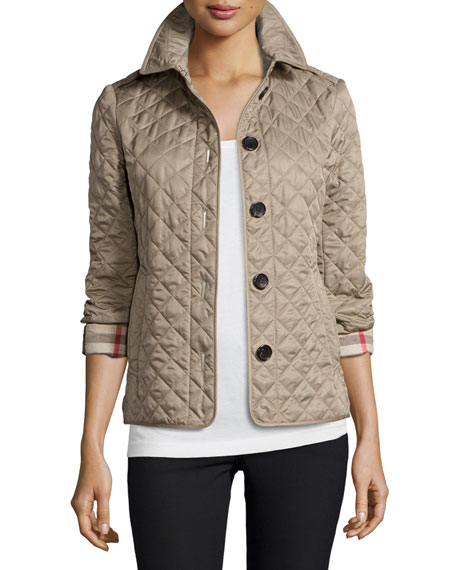 Burberry Ashurst Classic Modern Quilted Jacket