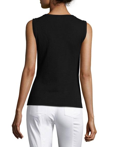 Kiklos Striped Zip-Front Jacket, Caviar/Bianco Best Price