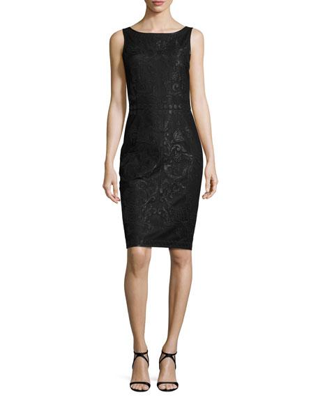 St. John Collection Dress & Topper