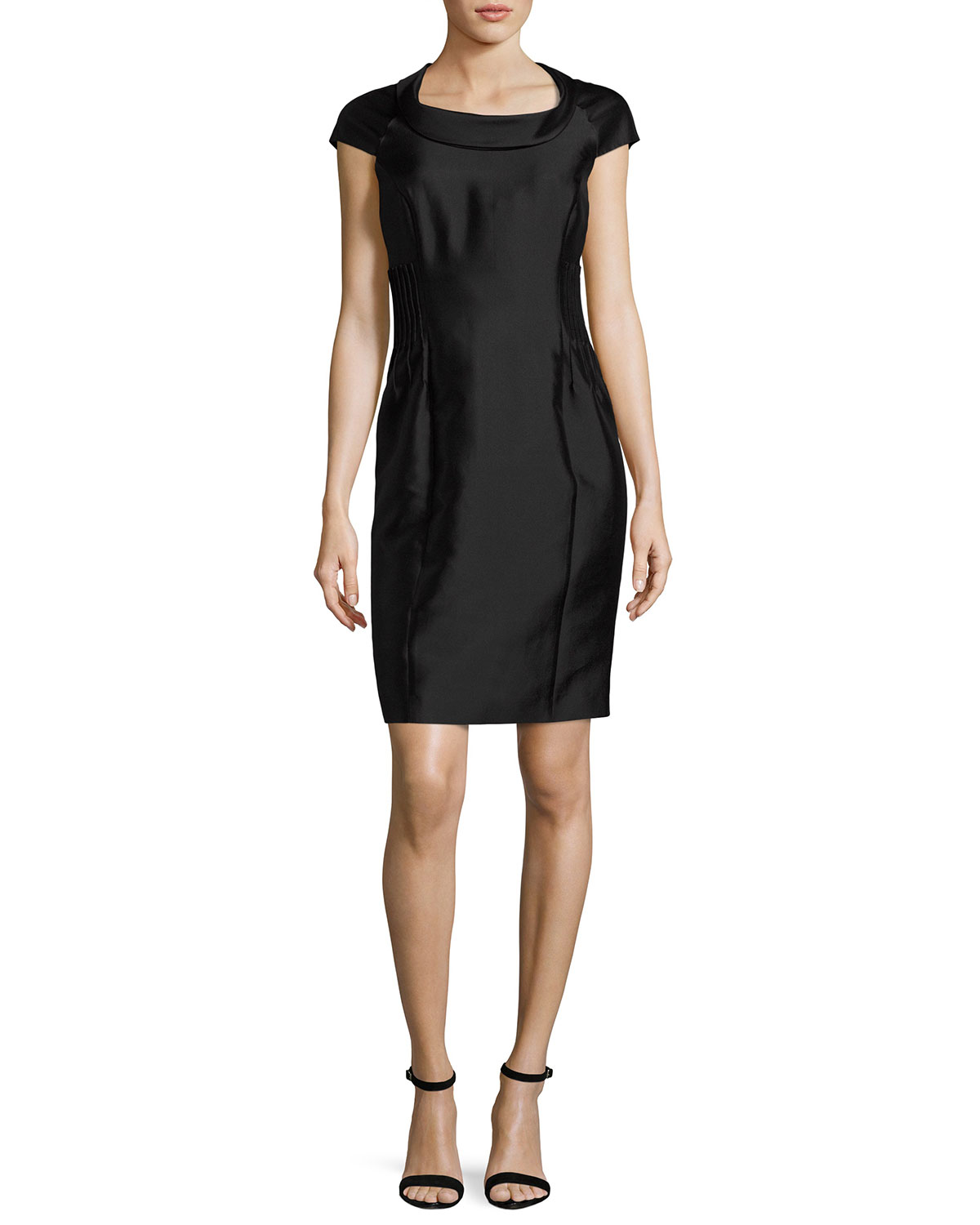 e867f76bd12 Armani Collezioni Radzimir Cap-Sleeve Sheath Dress