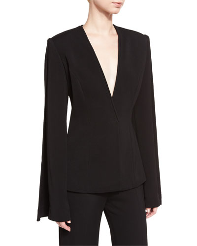 Classic Suiting Jacket, Black