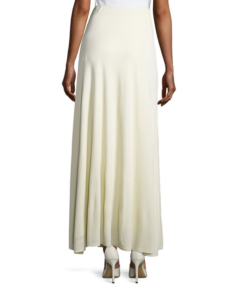 Skavel Jersey Maxi Skirt, Neutral