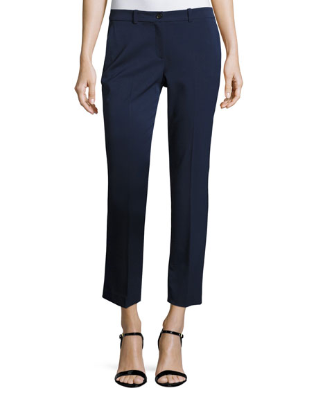 Michael Kors Collection Samantha Skinny Ankle Pants