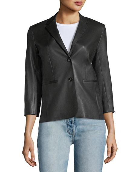 Nolbon Leather Jacket