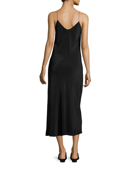 Gibbons Sleeveless Bias-Cut Dress