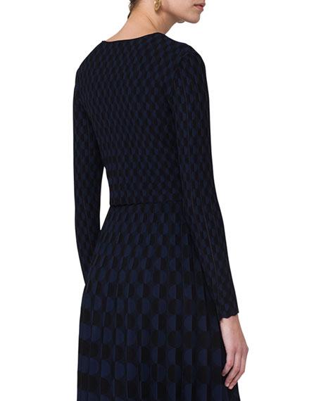 Knit Zip-Front Bolero, Multi