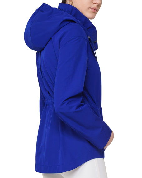 Tencho Parka w/Detachable Hood, Blue