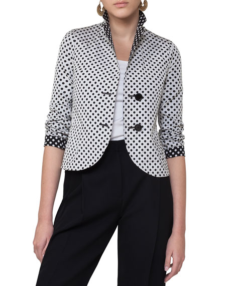 Reversible Polka Dot Jacket, Multi