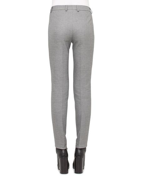 Melvin Slim-Leg Pants, Silver Charm