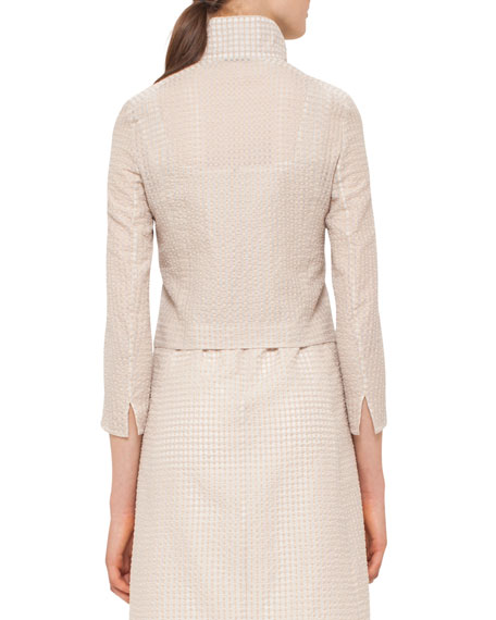 Bracelet-Sleeve Short Jacket, Neutral