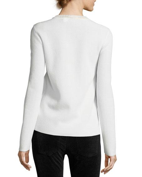Long-Sleeve Crewneck Sweater