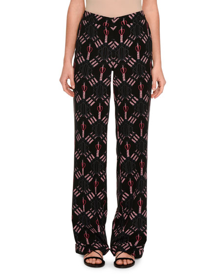 Love Blade Pajama Pants, Black