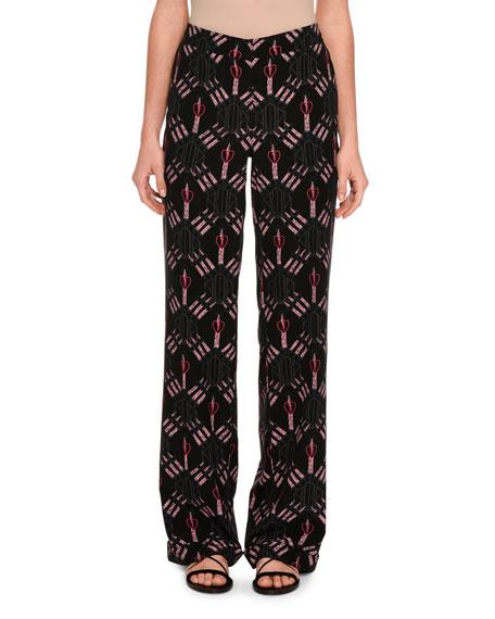 Love Blade Pajama Pants, Black