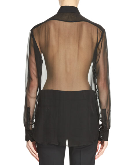 Silk Mousseline Shirt