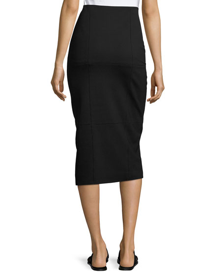 Mattie Pencil Skirt, Black