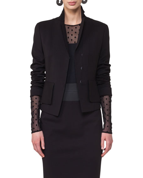 Akris punto Stretch-Gabardine Pencil Skirt and Matching Items