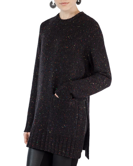 Akris punto Tweed Knit Pullover Sweater and Matching