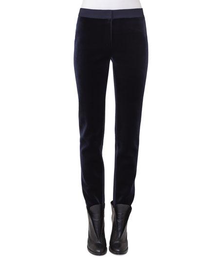 Akris punto Mara Velvet Jersey Pants