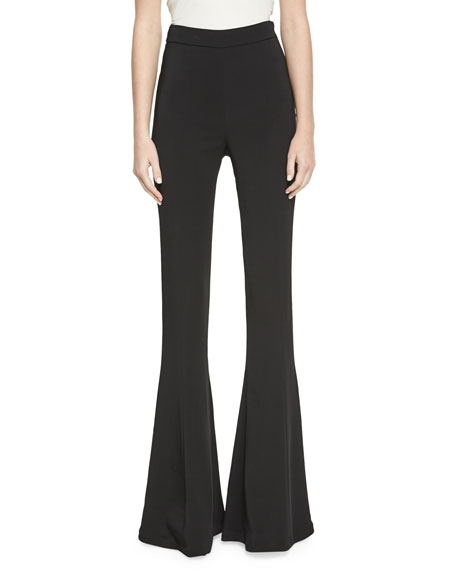 Cushnie Et Ochs Naomi High-Waist Flare Pants and