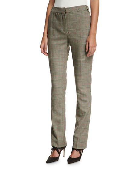 Jodi Prince of Wales Check Pants, Black