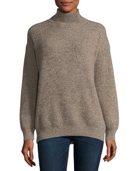 Stella McCartney Chunky Cashmere-Wool Turtleneck Sweater