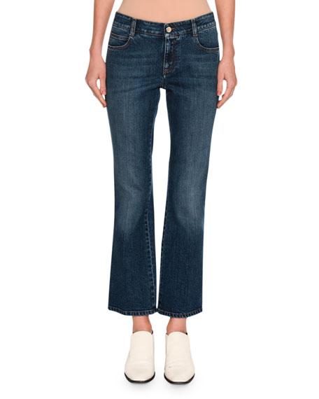 Stella McCartney Korky the Cat Skinny Kick-Flare Jeans,