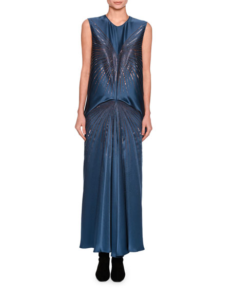 Stella McCartney Graziella Embellished Starburst Sleeveless
