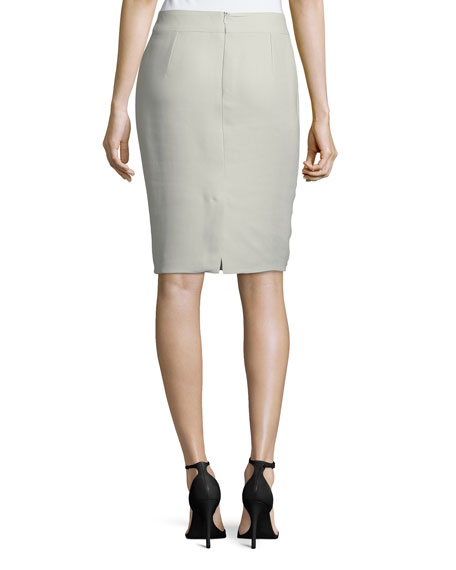 TECH CADY PENCIL SKIRT