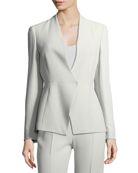 Armani Collezioni Asymmetric Cady Jacket and Matching Items