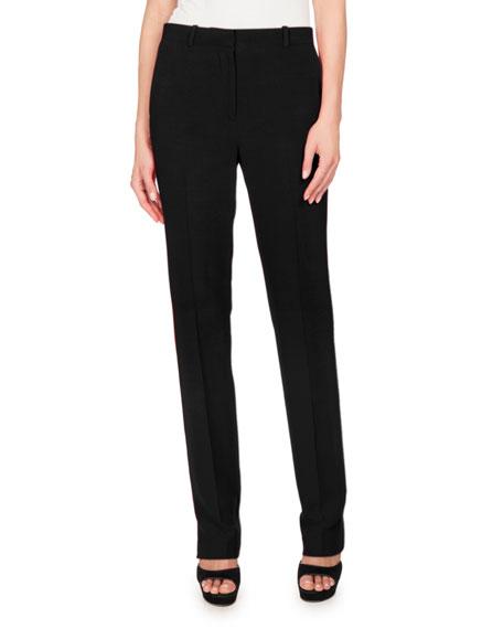 Givenchy Cady Skinny Pants, Black