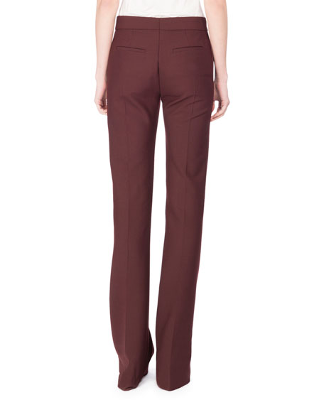 Victoria Paneled Boot-Cut Pants