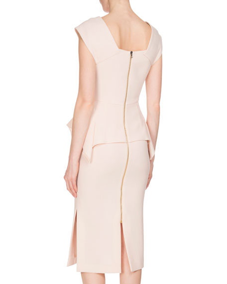 Sawleigh Peplum Sheath Dress