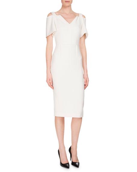 Awalton Cold-Shoulder Sheath Dress