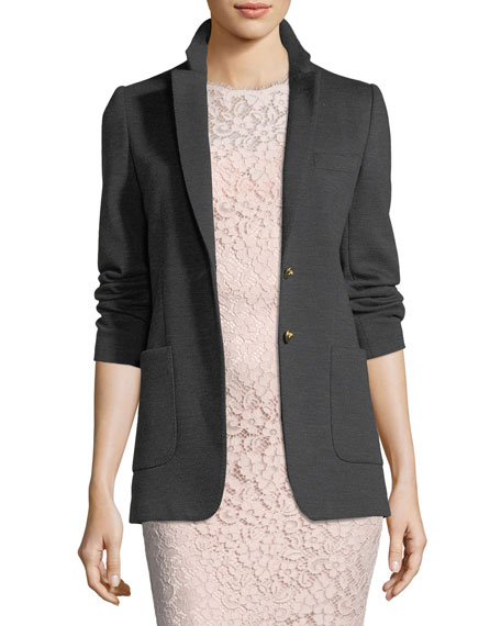 Dolce & Gabbana Knit Two-Button Jacket and Matching