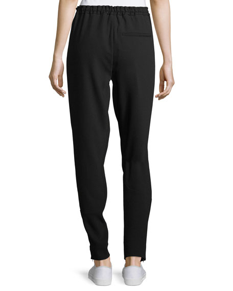 Relaxed Drawstring Jogger Pants