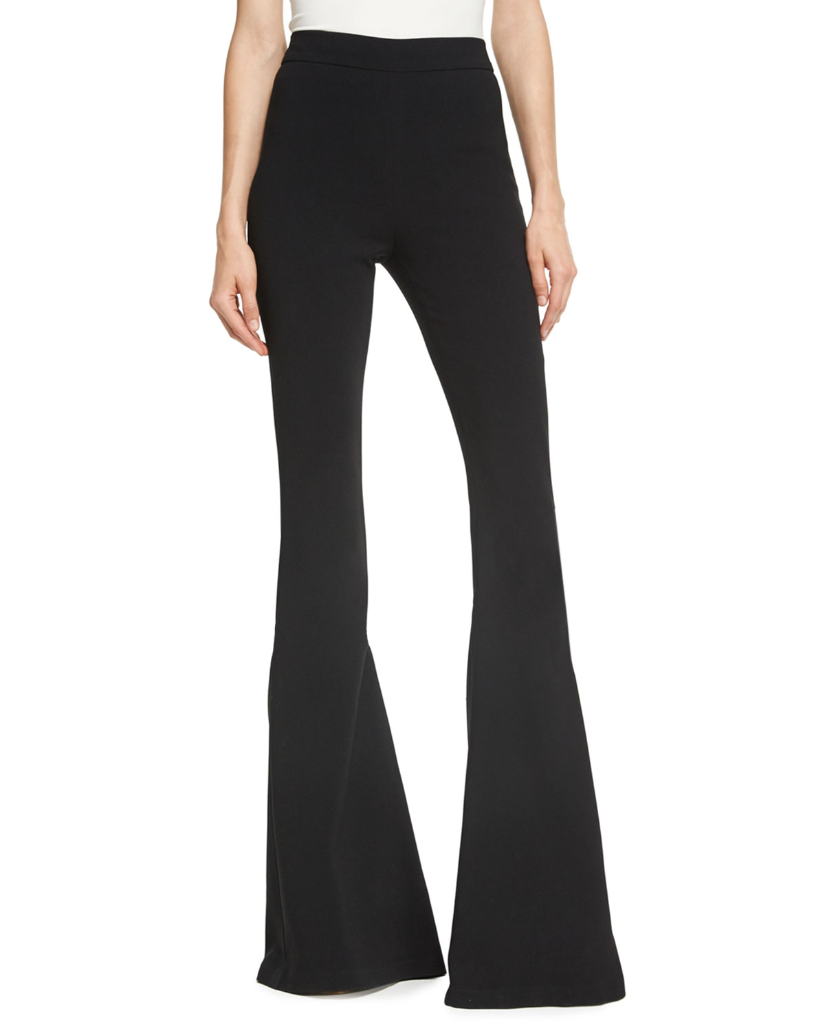 flared trousers - Black Brandon Maxwell hYFER