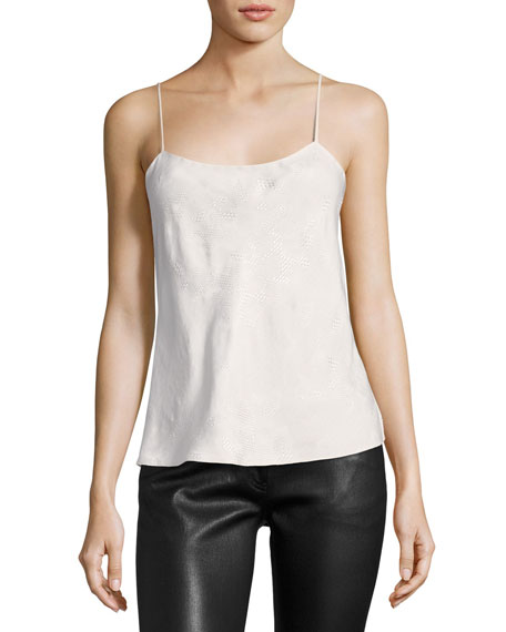 Biggins Textured Silk Camisole Top