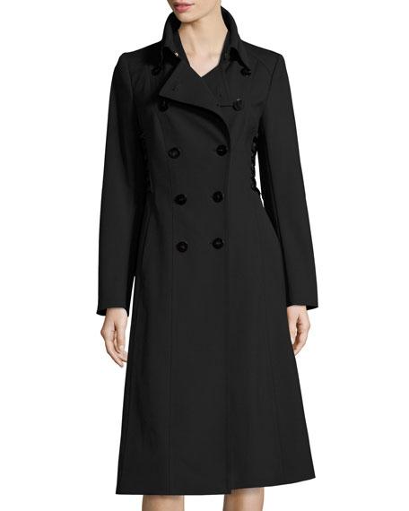 Escada Bartolini Lace-Up Side Sheath Dress and Matching