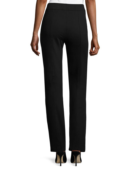 Tonisu Jersey Straight-Leg Pants