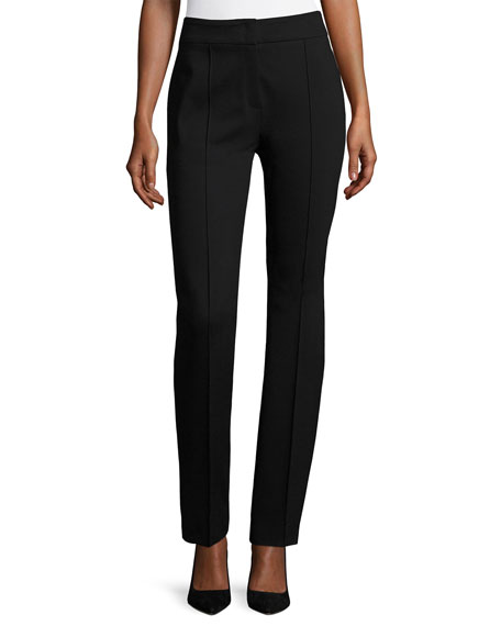 Escada Tonisu Jersey Straight-Leg Pants