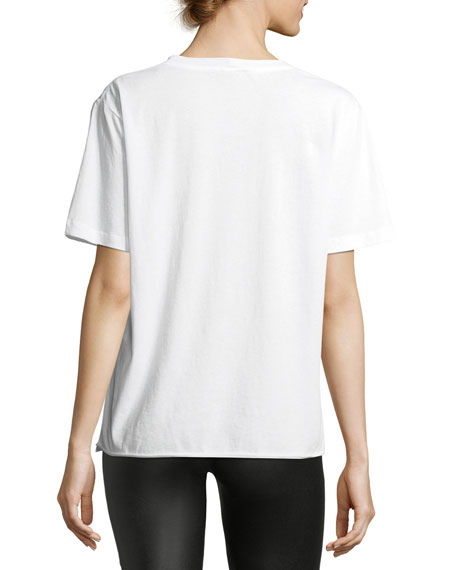 Oversized Bouche Saint Laurent Cotton T-Shirt