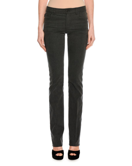 TOM FORD Washed Denim Boot-Cut Jeans, Gray and Matching Items